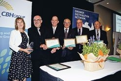 Farmers honoured for contributions