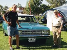 Car buffs flock to fabulous Flying 50