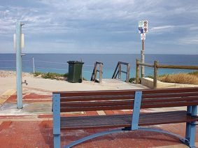 Bench with a 'view'