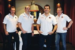 Matt Webby, Chris Farnan, Greg Farnan and Paul Farnan – the Ironbros team that raised $116,000 for the Centre for Cerebral Palsy. d399046