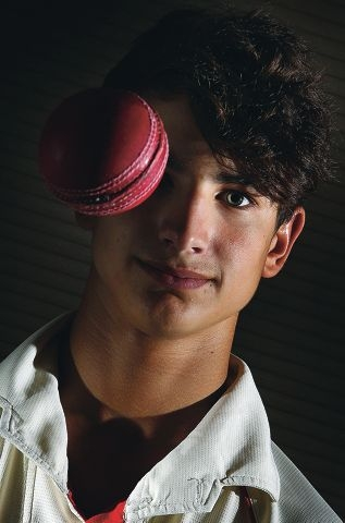 15yr old cricket star Liam Catalfamo.