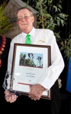 Community man hailed for life's achievements