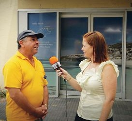 Vice-president Voluntary Guides Ted Zappara speaks with Western Suburbs Weekly editor Denise S. Cahill.