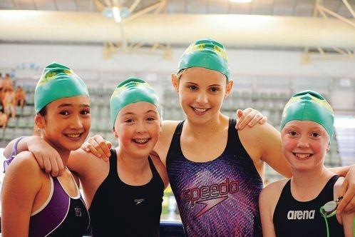 Nina Brown, Gemma Edwards, Elli Sforcina and Scarlett Sillence.