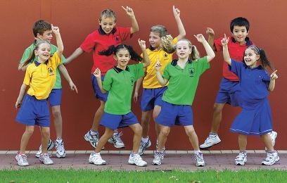 Year 2 Mater Christi students get their groove on enjoying Edu-Dance classes.