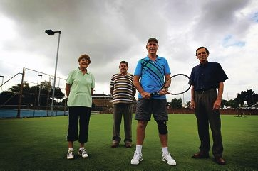 Life members Peggy Secker, Geoff Cousins, Geoff Gell and Joe Miotti. Picture: Andrew Ritchie www.communitypix.com.au d399366