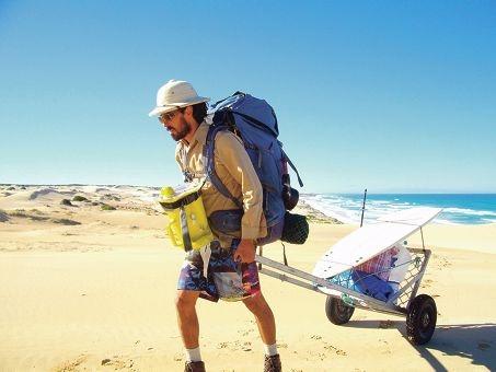 David Ingram in The Dream: coastline Sydney to Perth.