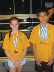 Swimmers compete at all-stars