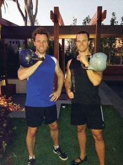South Perth trainer hangs with Hollywood star