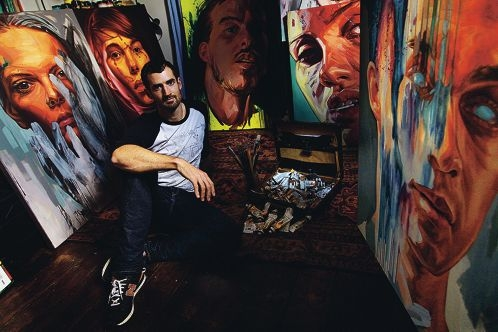 Miles Noel is a really talented young artist who is presenting his latest exhibition called Fragile States (painted portraiture) at a little gallery in Carlisle from May 4-21.