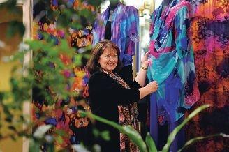 Fashion designer Liz Davenport