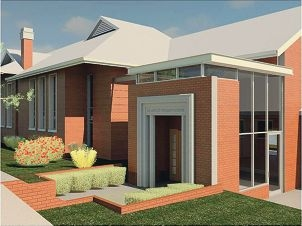 Artist's impression of the new Mt Lawley Primary School.