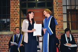 Highest honour for student