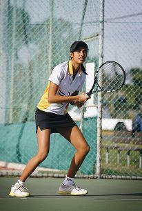 Charleen Tiwari is looking for tournament success this year. Picture: Marie Nirme www.communitypix.com.au d399907