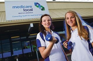 Nutritionist Rebecca Fleming and dietician Megan Hardy are excited about the program.Picture: Matthew Poon