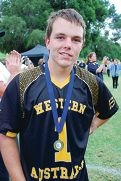 State team captain and MVP medal winner Ben Game had a national championships tournament to remember.