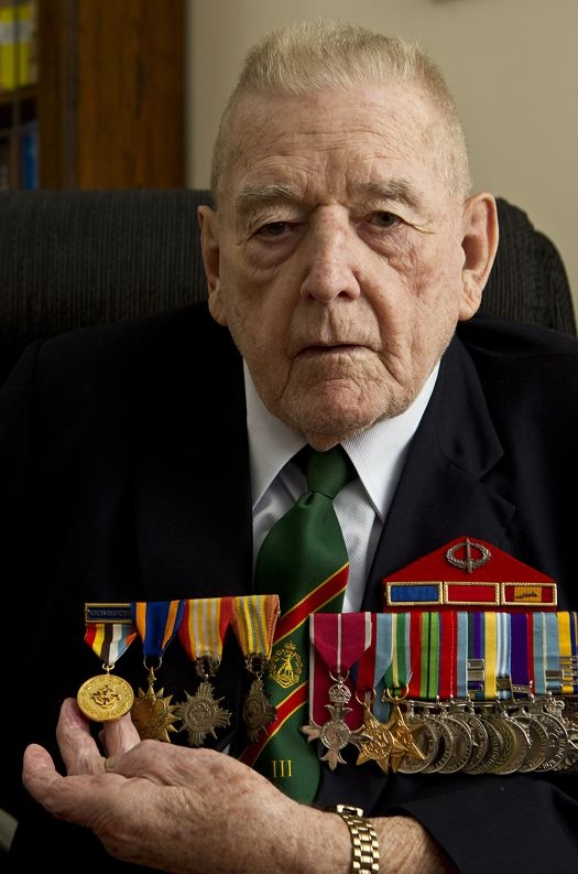 'Super Vet' Reg Bandy, who will be awarded the Korean Ambassador for Peace Medal this weekend. Picture: Matthew Poon d400389