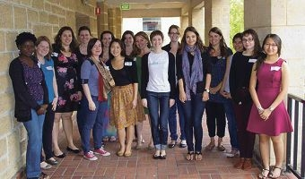 Volunteers and members of the Perth Chapter of the Young UN Women.