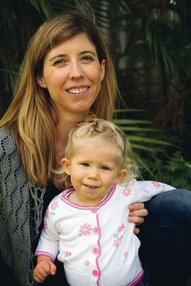Erin Carver with daughter Abbey.