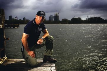 Swan River Trust senior environmental manager Jeff |Cosgrove. Picture: Andrew Ritchie www.communitypix.com.au d400837