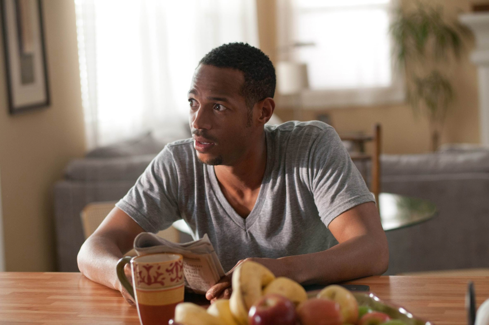 Marlon Wayans in A Haunted House.