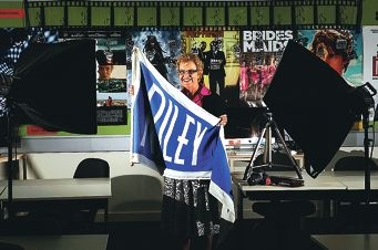 St Mary's Anglican Girls' School media teacher Lynne Malone, a former student, is retiring at the end of the year.
