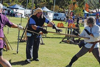 Some of the action at last year's Iron Festival.