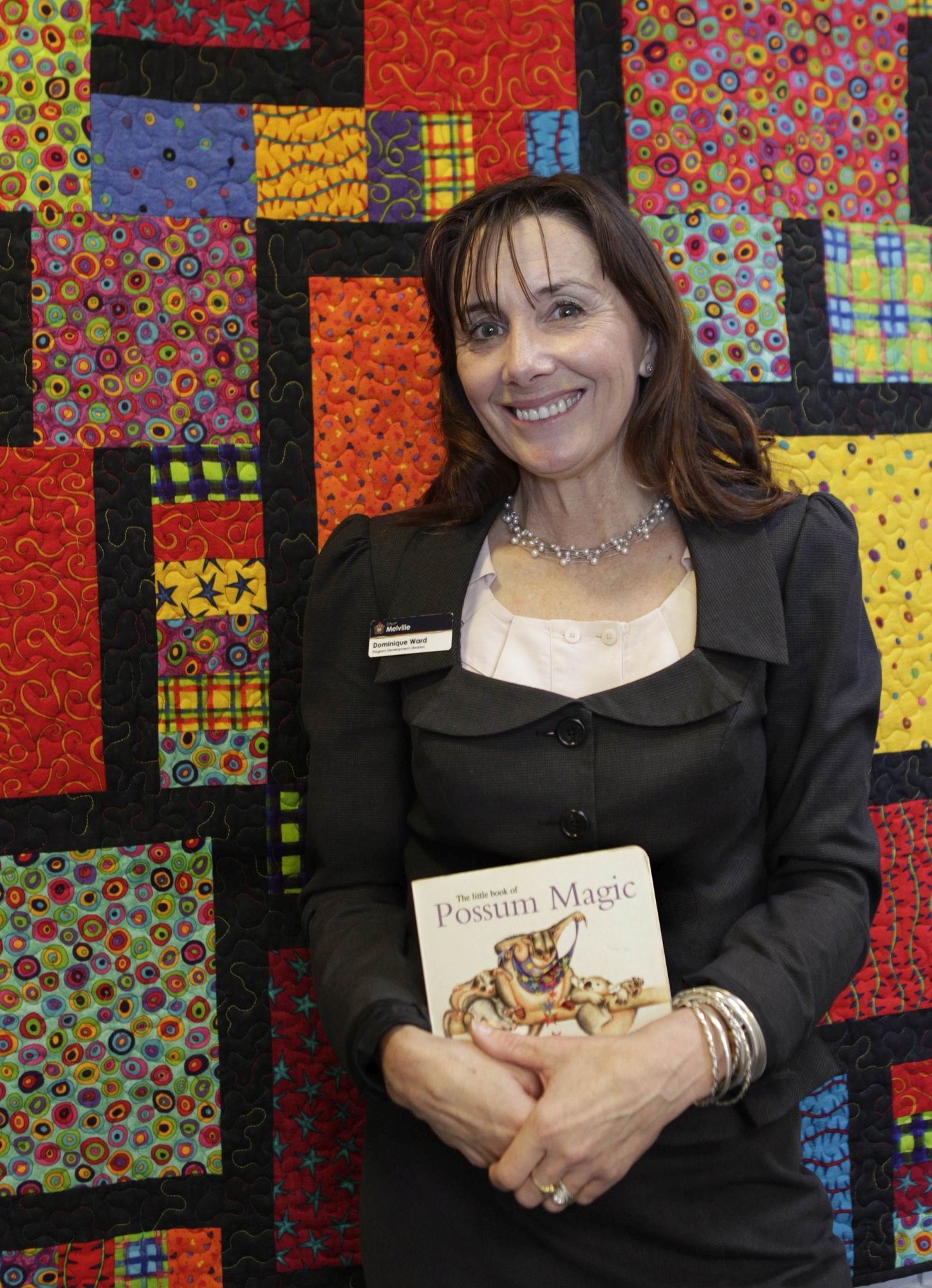 Favourite librarian: Program development librarian Dominique Ward. d401095
