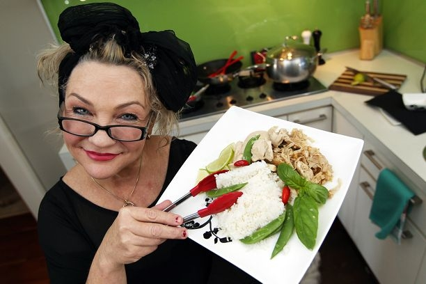 Ronda Raymond will cook a Thai-themed banquet in memory of her late father. Picture: Dominique Menegaldo www.communitypix.com.au d401430