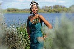 Miss Africa Sylvia Karanja.