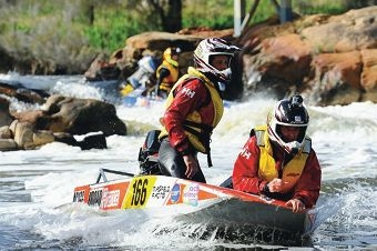 Some of the action from last year's Avon Descent.