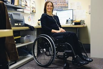 Lisa Papiccio was diagnosed with a neurological disorder when she was 21. Picture: Marcus Whisson www.communitypix.com.au d401401