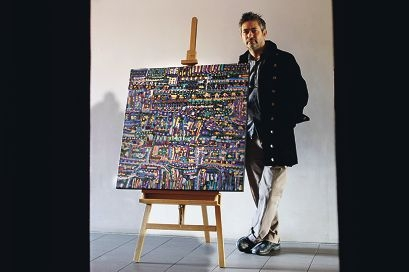 Artist David Giles (Willagee)