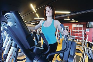 YMCA Victoria Avenue Fitness Centre professional trainer Caitlin Acharya. Picture: Marcus Whisson www.communitypix.com.au d401938