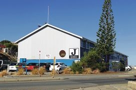 The J Shed is being included in the City's plans for an Arts Hub.