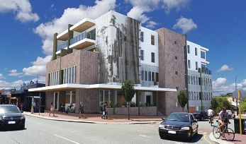 An artist's impression of the proposed Beaufort Street development.