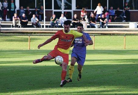 Stirling Lions versus Inglewood United. Picture: Matt Jelonek d401501