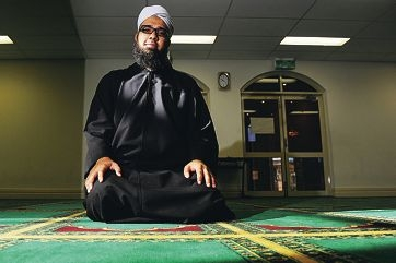 Imam Burhaan Mehtar at the Australian Islamic College's Kewdale campus mosque.