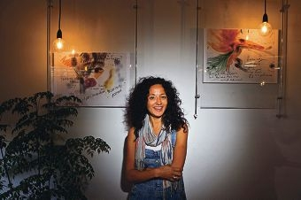 Vaelei Walkden-Brown is holding an exhibition to launch her new business.