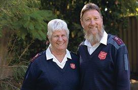 Captains Kaye and Dean Hill. Picture: Elle Borgward d401596