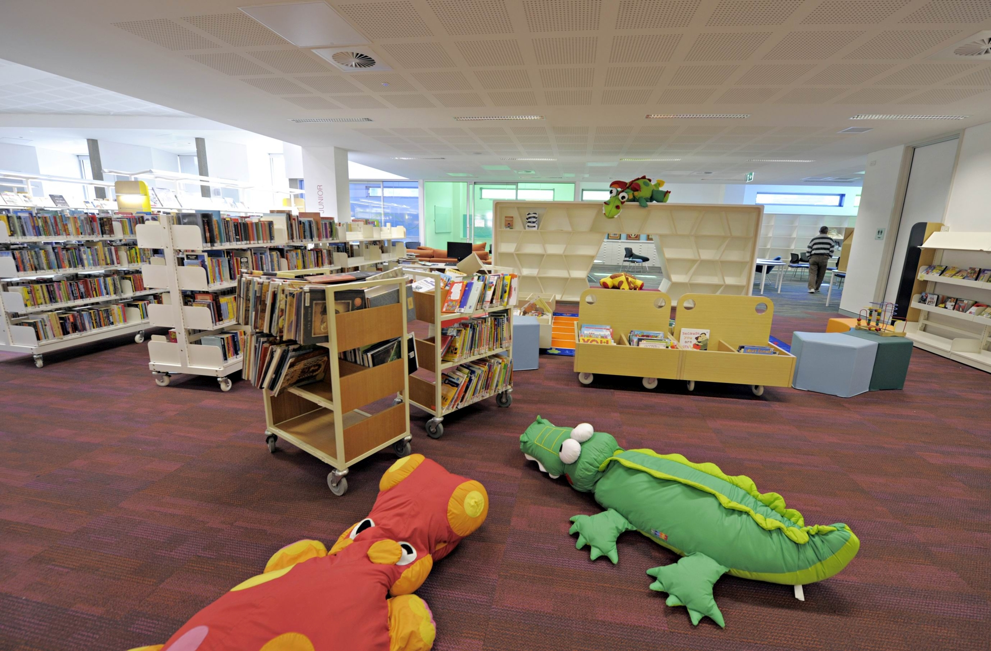 Sections of the new Kwinana library. Pictures: Elle Borgward www.communitypix.com.au d402175