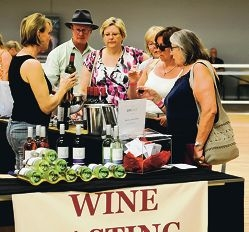 One of the stores at the Avon Valley Food and Wine Festival.