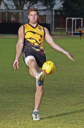 Chidlow full-forward Adam McKinlay.