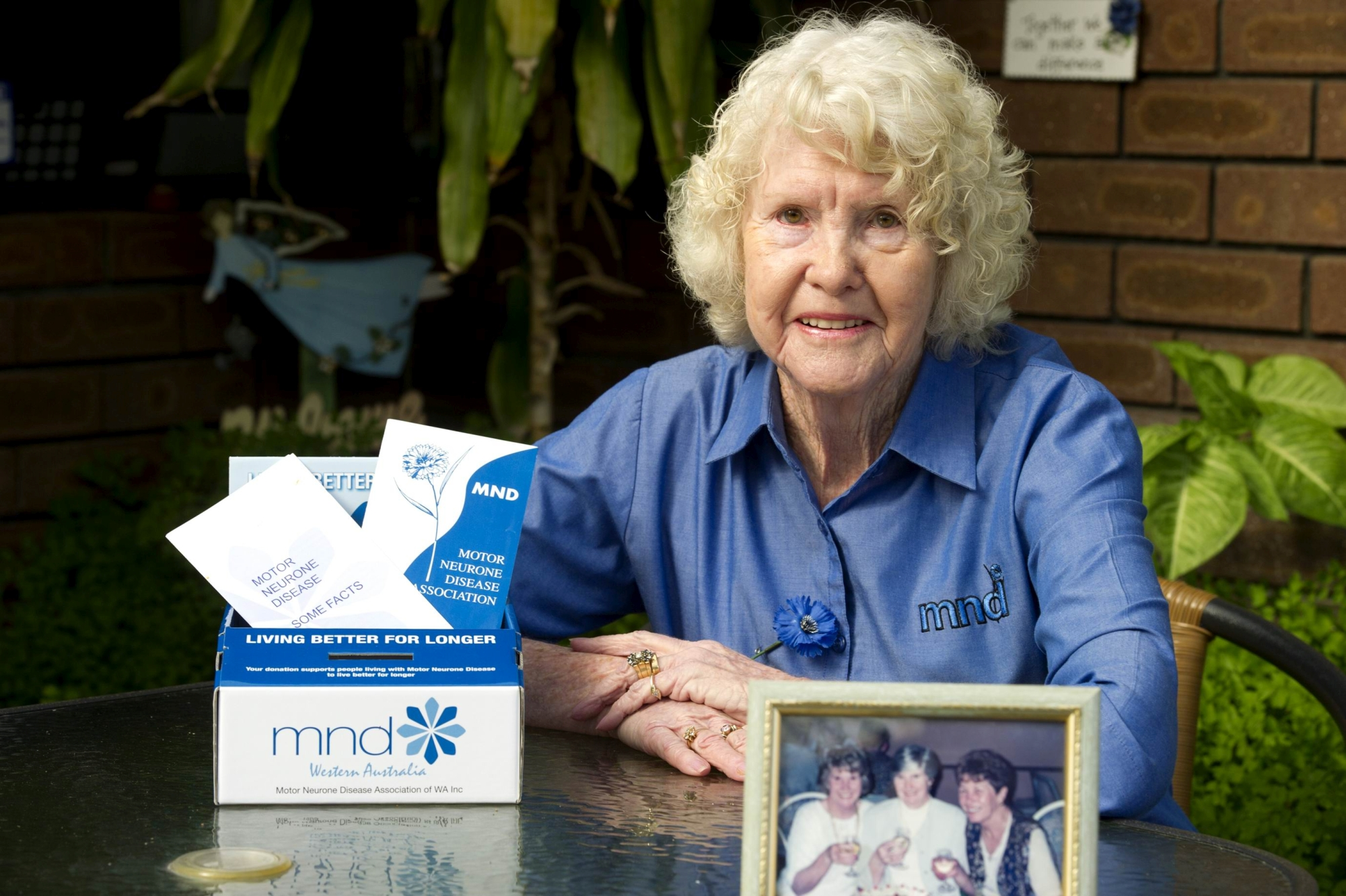Lois Peck will be at the MND Association's lunch. Picture: Emma Reeves www.communitypix.com.au d402425