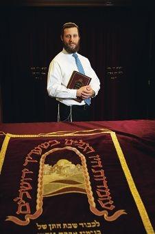 Rabbi Avi Lifhsitz.