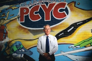 Former police officer John Gillespie is the new PCYC CEO.
