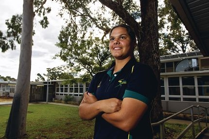 Larissa Bennell is off to the US. Picture: Matthew Poon www.communitypix.com.au d401464