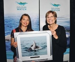 Volunteers honoured for commitment to dolphins