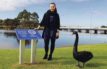 Canning parks conservation officer Merise Hocking . Picture: Martin Kennealey d402893