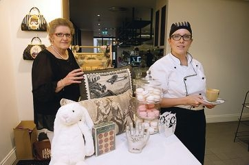 Aynsley and Lisa Anderson in their new cafe and homeware shop called The Buttery.|Picture: Emma Reeves www.communitypix.com.au d402796